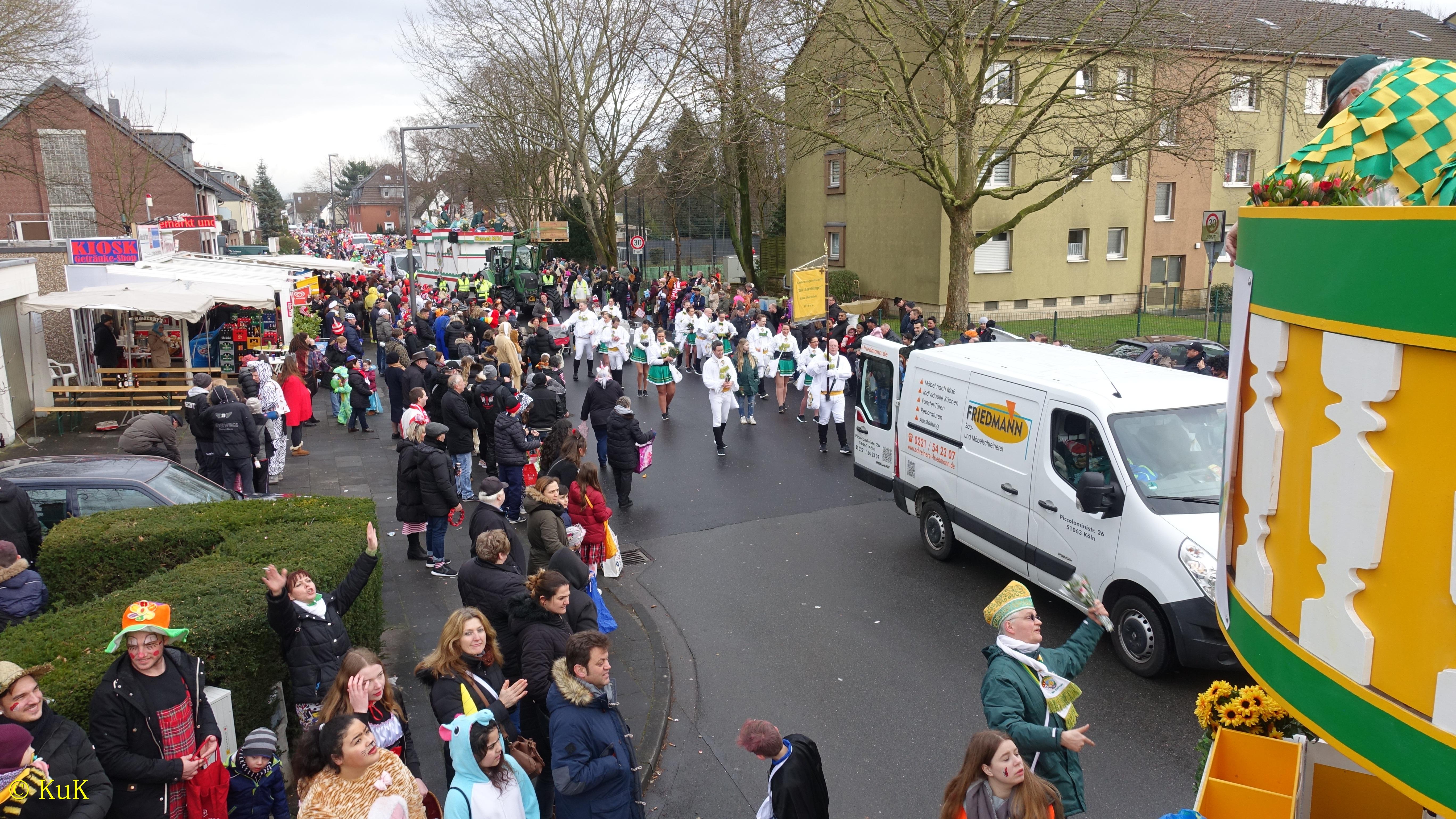 Karnevalszug Köln Holweide 2021