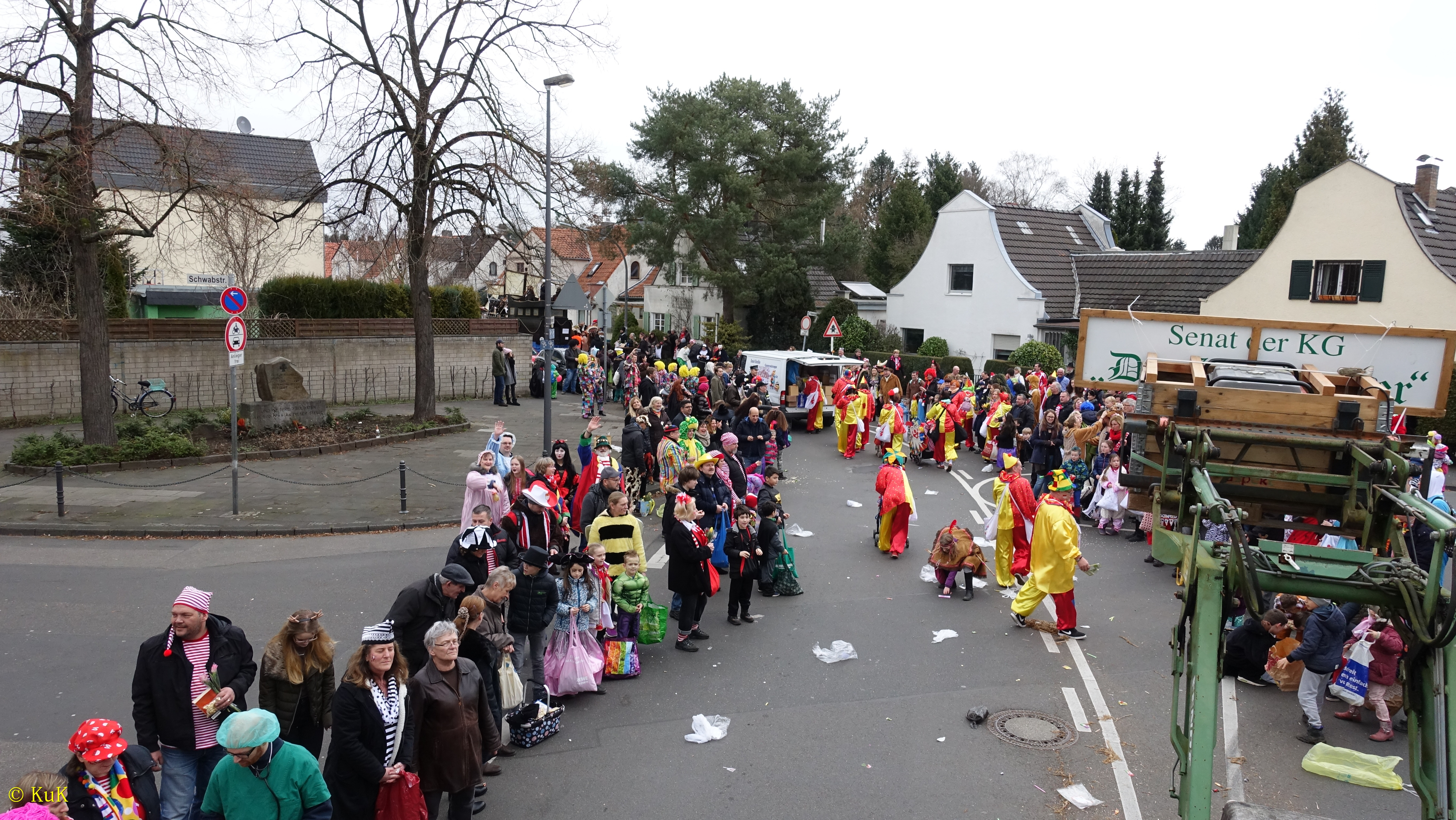 Karnevalszug Holweide